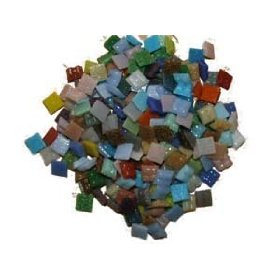 1000 Tiny Mosaic Glass Tiles